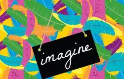 Imaginez le concept Photos libres de droits