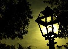 Imaginez que la lampe est allumée photos libres de droits