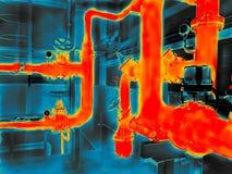 Imagiologia térmica fotos de stock