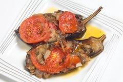 Imam melitzanes aubergines Royalty Free Stock Photo