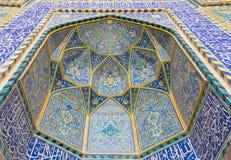 Imam Mosque (den Masjed-e imamen) i Isfahan, Iran arkivfoto