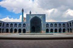 Imam Mosque i Isfahan Arkivbilder