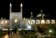 The imam mosque in isfahan iran Royalty Free Stock Images