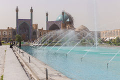 Imam Mosque (Masjed-e Imam)  in Isfahan, Iran. Royalty Free Stock Photography