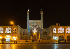 Imam Mosque at Naghsh-e Jahan Square in Isfahan, Iran Stock Photography