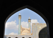 Imam Mosque. Imam Square in Esfahan. Iran Royalty Free Stock Photography