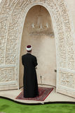 Imam praying in Mosque Royalty Free Stock Photos