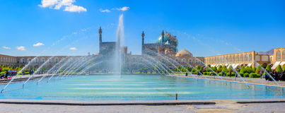 Imam Square in Isfahan stock image