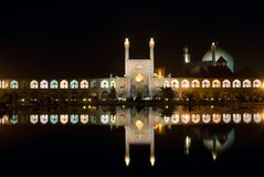 Imam Square at night Royalty Free Stock Photos