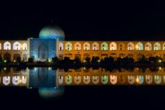 Imam Square at night Royalty Free Stock Photography