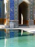 Imam van Masjid e, Moskee Royalty-vrije Stock Afbeelding