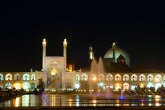 Imam Vierkant, Isphahan, Iran stock afbeelding