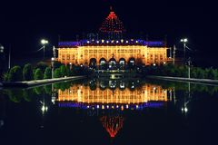Imambara mausoleum, Lucknow, Indien Royaltyfri Bild
