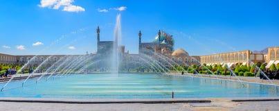 Imamfyrkant i Isfahan Fotografering för Bildbyråer
