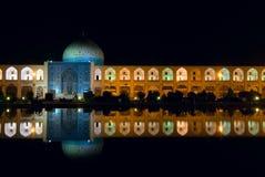 Imamfyrkant på natten Royaltyfri Fotografi