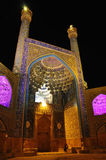IMAMKHOMEINI MOSKÉ ISFAHAN, IRAN Royaltyfria Bilder