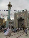 Imamzadeh Saleh moské i Teheran Royaltyfria Bilder