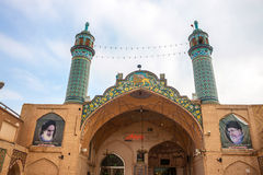 Imamzadeh-ye Sultan Mir Ahmad shrine Stock Images