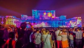 Imapp bucharest ,romanian parliament. Picture from imapp bucharest with romanian parliament the faimous building Stock Photo