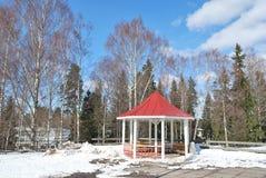 Imatra, Finland. Kruununpuisto Park Stock Photos