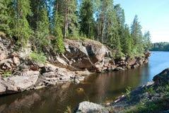Imatra, Finland. Kruununpuisto Park Royalty Free Stock Images