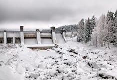 Imatra finland Rapid e garganta de Imatrankoski Imagens de Stock
