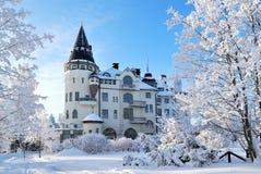 Imatra, Finlande, en hiver Photographie stock libre de droits
