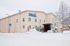 Imatra, Finlande Théâtre de ville photos libres de droits