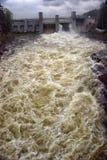 imatra hydroelektryczna elektrownia Obrazy Royalty Free