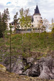 Imatra, Suomi or Finland. Art Nouveau house in Imatra, Finland Royalty Free Stock Image