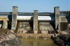 Imatra Wasserkraftwerk lizenzfreies stockbild