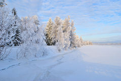 Imatra in  winter Stock Photography