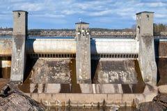 Imatrankoski, hydroelektryczna elektrowni fasada Zdjęcie Stock