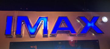 IMAX Cinema Stock Photography
