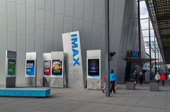 IMAX Cinema at the Melbourne Museum, Australia Royalty Free Stock Image
