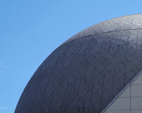 Imax dome. Outside of imax dome theater Stock Photography
