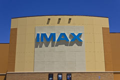 IMAX Movie Theater Logo and Signage I Royalty Free Stock Images