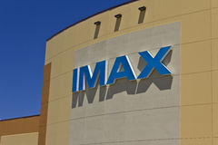 IMAX Movie Theater Logo and Signage II Royalty Free Stock Image