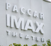 IMAX Theater at Seattle Pacific Science Center - SEATTLE / WASHINGTON - APRIL 11, 2017 Stock Photography