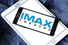 Imax theatre logo Royalty Free Stock Photography