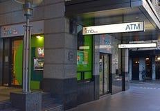 IMB-Bank, Hauptsitz gehabt in Wollongong, Australien, bietet eine vollständige Auswahl von Bankwesenlösungen an lizenzfreie stockfotografie