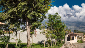 Imbabura nell'Ecuador Fotografie Stock