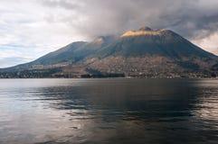 Imbabura stratovolcano在北厄瓜多尔 库存图片