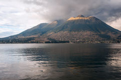 Imbabura stratovolcano in northern Ecuador Stock Image