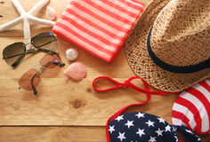Summer accessory Stock Images