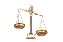 Imbalanced scale Stock Images