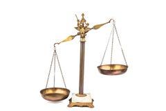 Imbalanced skala Zdjęcie Stock