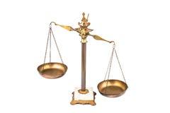 Imbalanced skala Obrazy Stock