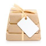 Imballaggio ambientale Fotografia Stock