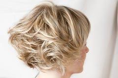 Imballaggio dei capelli giusti Fotografia Stock